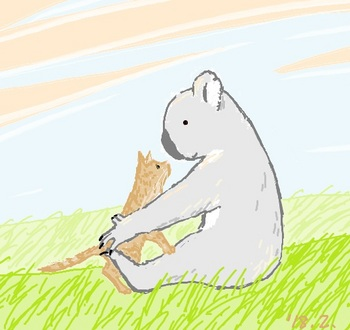 snsコアラと子ネコ.jpg